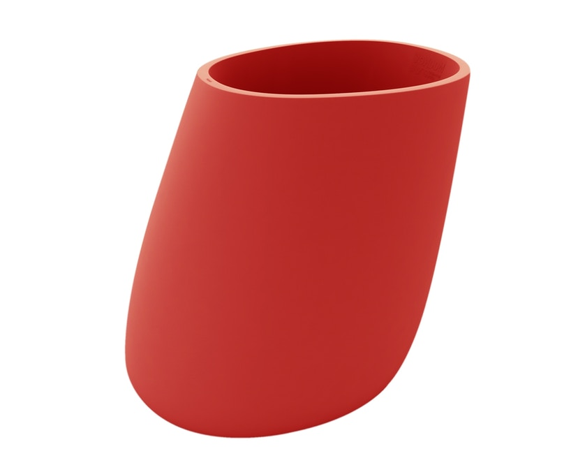 Vondom - Stone Blumentopf - rot - 140 - 0