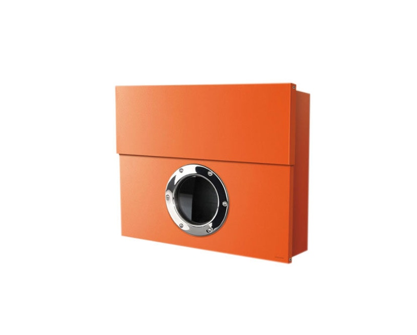 Radius - Letterman Briefkasten XXL - orange - 2