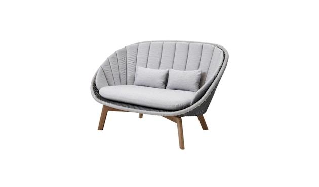 Cane-line - Kissensatz für Peacock 2- Sitzer Sofa - hellgrau - 1