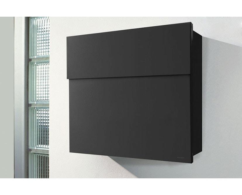 Radius - Letterman Briefkasten 4 - schwarz - 2
