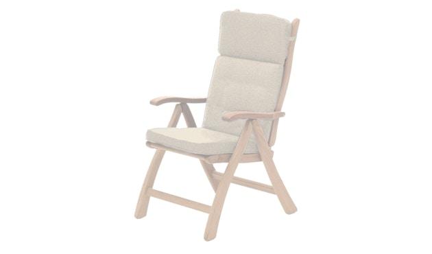 Alexander Rose - Sitzkissen für Hochlehner - Ecru - 0