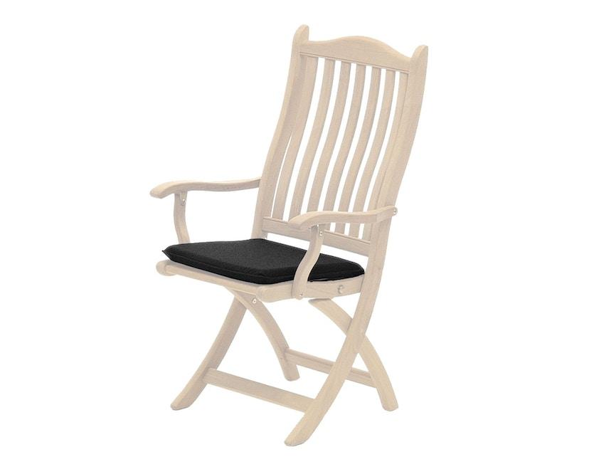 Alexander Rose - Sitzkissen für Stuhl - Charcoal - 5