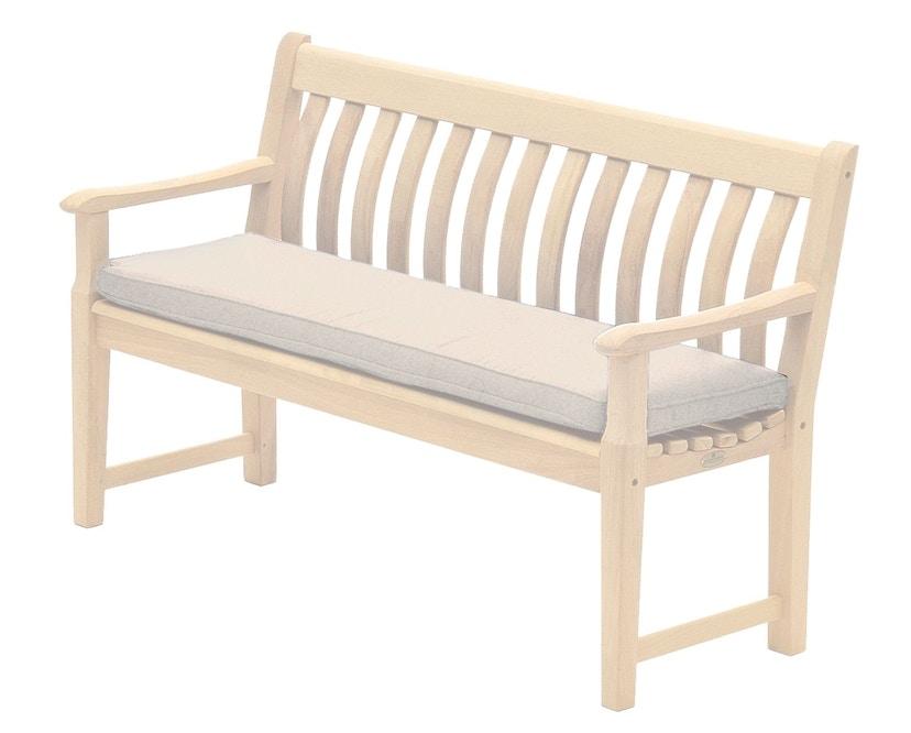 Alexander Rose - Sitzkissen für 2-Sitzer Bank - Oatmeal - 2