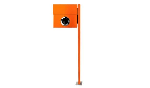 Radius - Letterman staande brievenbus XXL - oranje - 2