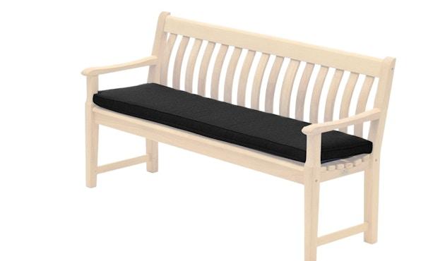 Alexander Rose - Sitzkissen für 3-Sitzer Bank - Charcoal - 0