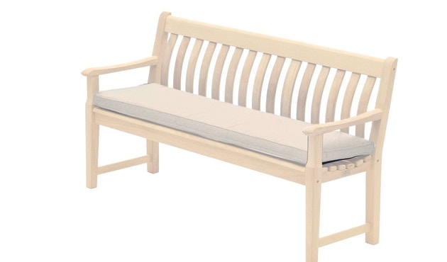 Alexander Rose - Sitzkissen für 3-Sitzer Bank - Oatmeal - 0