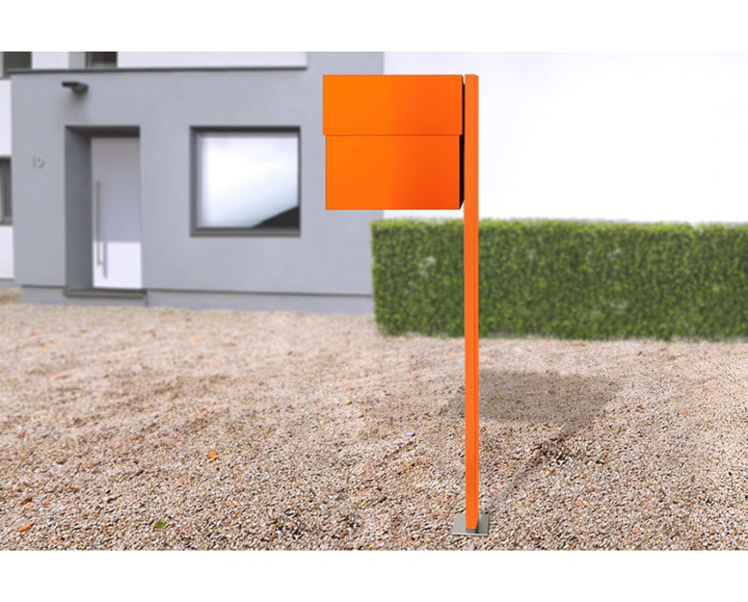 Radius - Letterman Standbriefkasten XXL 2 - orange - 3