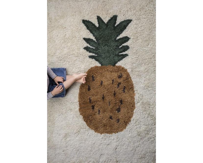 ferm LIVING - Fruiticana Teppich - groß - Ananas -  - 3