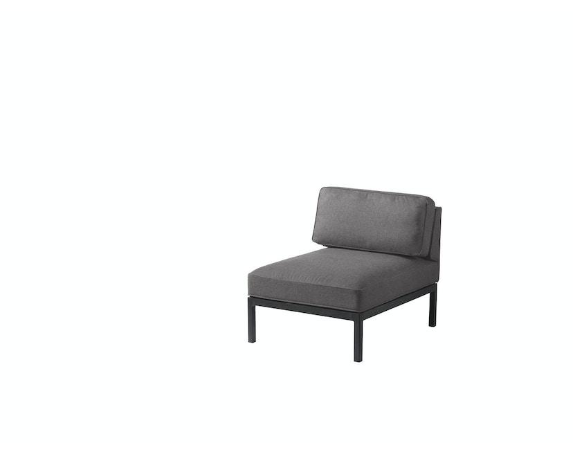 L37 - 07-09-13 Modulsofa - Sitz - schmal - warmes grau/schwarz_FDB Møbler_Thomas E. Alken