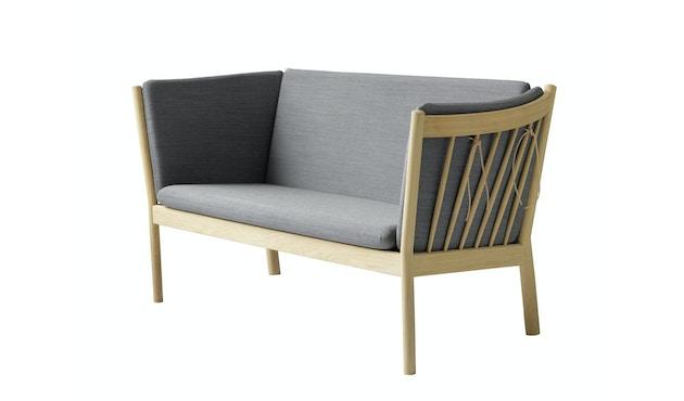 J148 Sofa - 2-Sitzer - anthrazitgrau - Eiche natur_FDB Møbler_Erik Ole Jørgensen