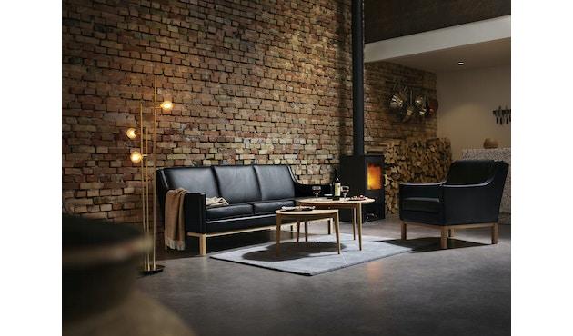 L603 Sessel - schwarz_FDB Møbler_Erik Wørts