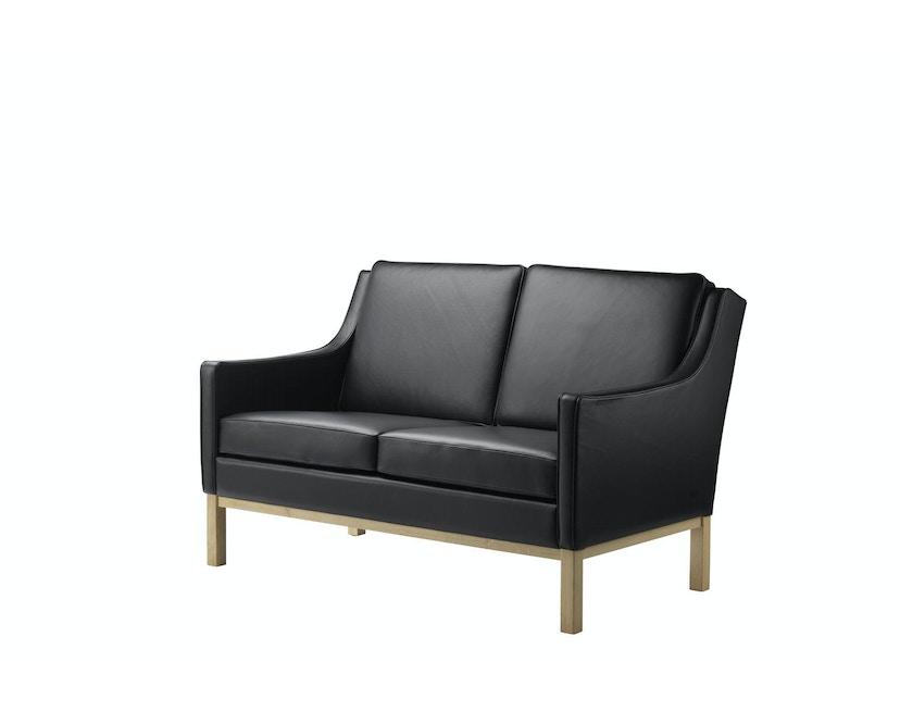 L601-2 Sofa - 2-Sitzer - schwarz_FDB Møbler_Erik Wørts