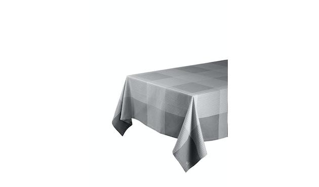 R1 - Olga Tischdecke - grau - 150x150_FDB Møbler_Vibeke Rohland