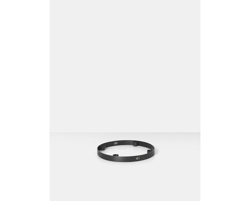 ferm LIVING - Circle Kerzenhalter - Klein - schwarz - 3