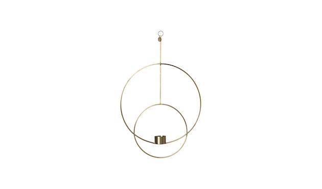ferm LIVING - Hängendes Teelicht - kreisförmig - Messing - 1