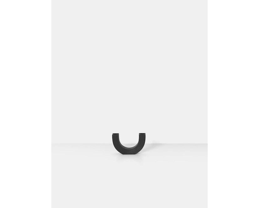 ferm LIVING - Arch Kerzenhalter - schwarz - 3