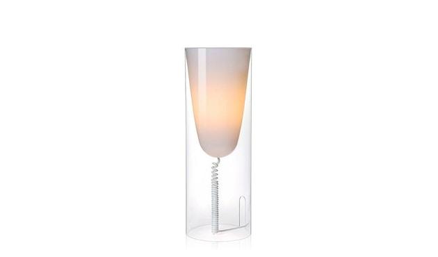 Kartell - Toobe Tischleuchte - glasklar - 1