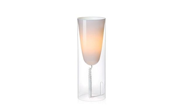 Kartell - Toobe Tischleuchte - glasklar - 2