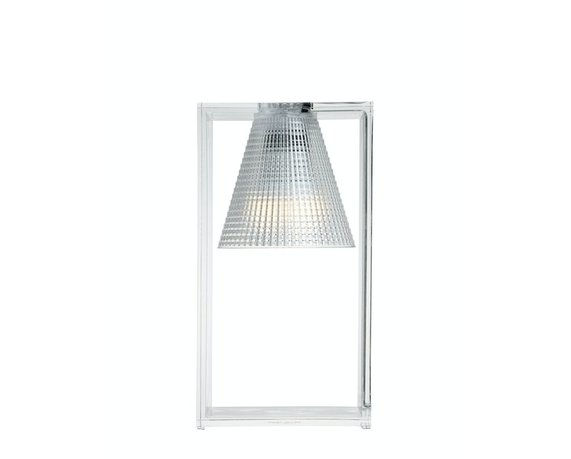 Kartell - Light Air Tischleuchte - kristall - 1