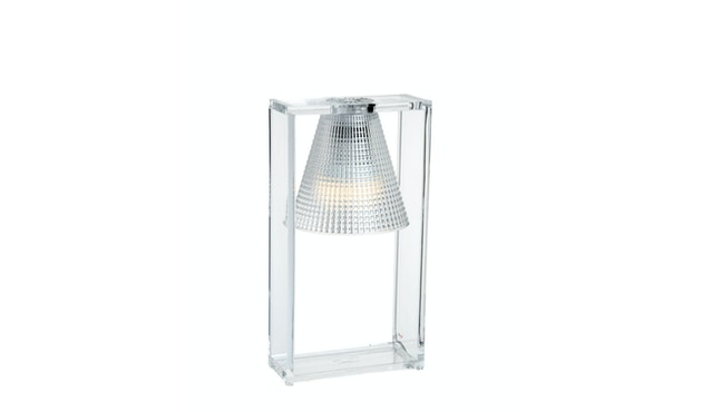 Kartell - Light Air Tischleuchte - kristall - 2