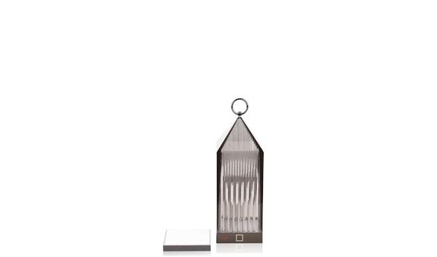 Kartell - Lantern Tischleuchte - rauchgrau - 3