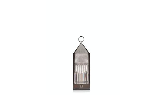 Kartell - Lantern Tischleuchte - rauchgrau - 1