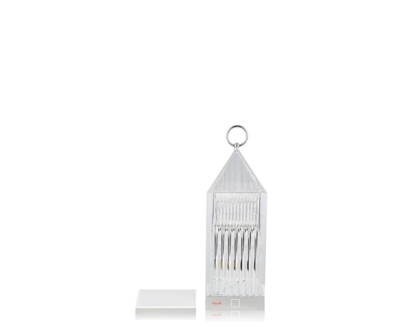 Kartell - Lantern Tischleuchte - glasklar - 3
