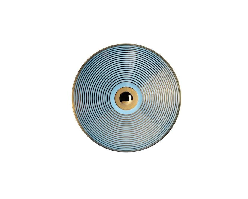 Kartell - Trullo Tischbehälter - Giallo/blu - 3