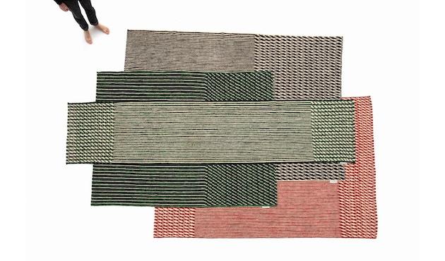 Nanimarquina - Blur Läufer - schwarz - 75 x 400 cm - 2