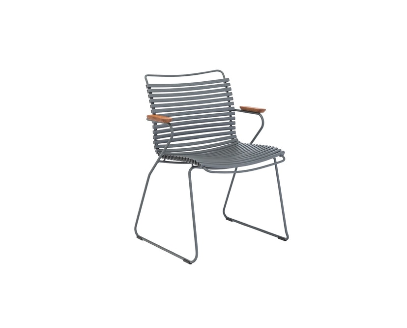 Houe - Click Dining fauteuil - donkergrijs - 1