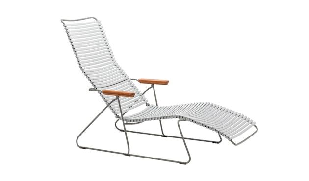 Houe - Click Sunlounger ligstoel - grijs - 1