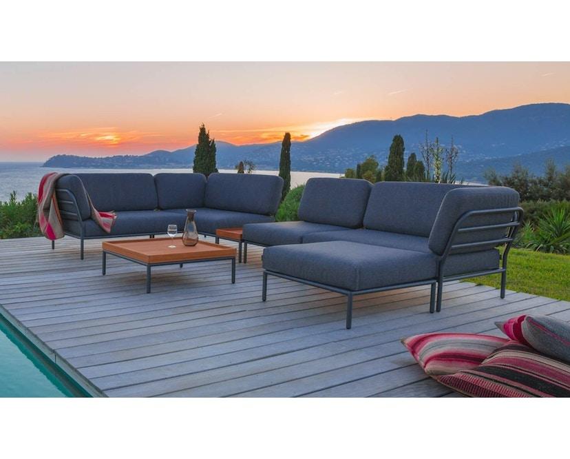 Houe - Level Lounge sofa - Armleuning rechts - Basic - donkergrijs - 3