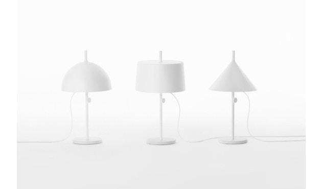 Wästberg - Nendo w132 tafellamp - cilinder - wit - 4
