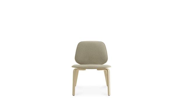 Normann Copenhagen - My Chair Loungestuhl Frontpolsterung - Morden (Main Line Flax) - 2