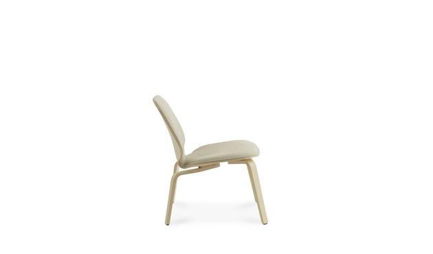 Normann Copenhagen - My Chair Loungestuhl Frontpolsterung - Morden (Main Line Flax) - 3
