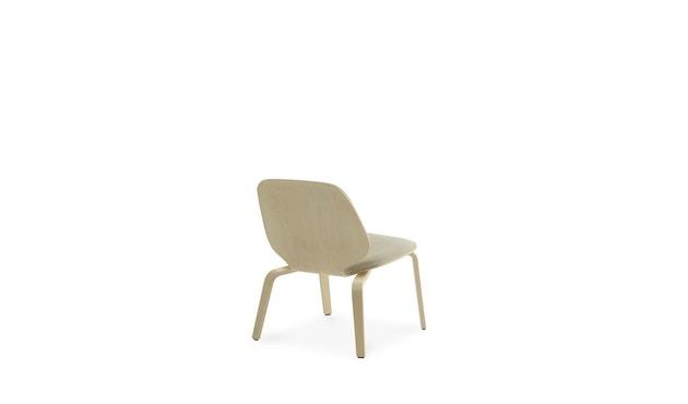 Normann Copenhagen - My Chair Loungestuhl Frontpolsterung - Morden (Main Line Flax) - 4