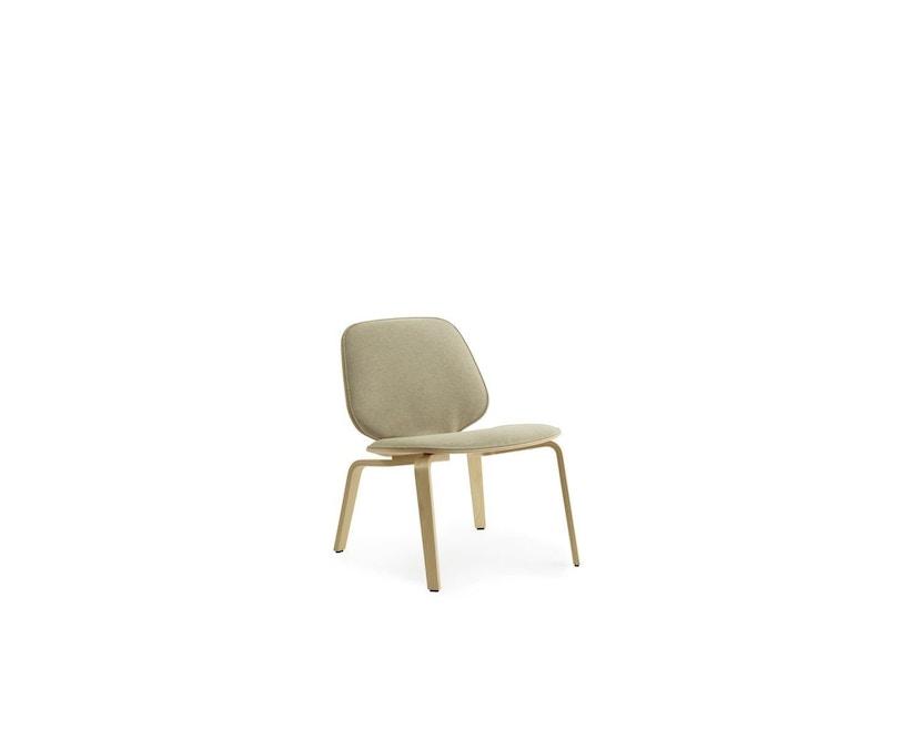 Normann Copenhagen - My Chair Loungestuhl Frontpolsterung - Morden (Main Line Flax) - 1