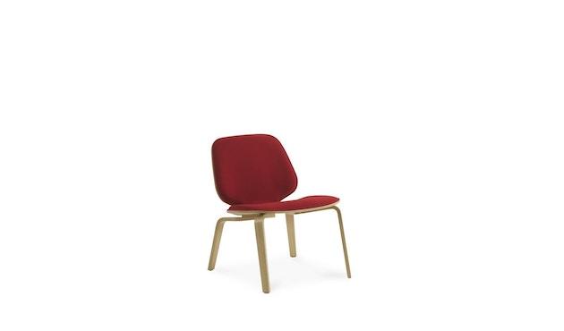 Normann Copenhagen - My Chair Loungestuhl Frontpolsterung - Morden (Main Line Flax) - 5