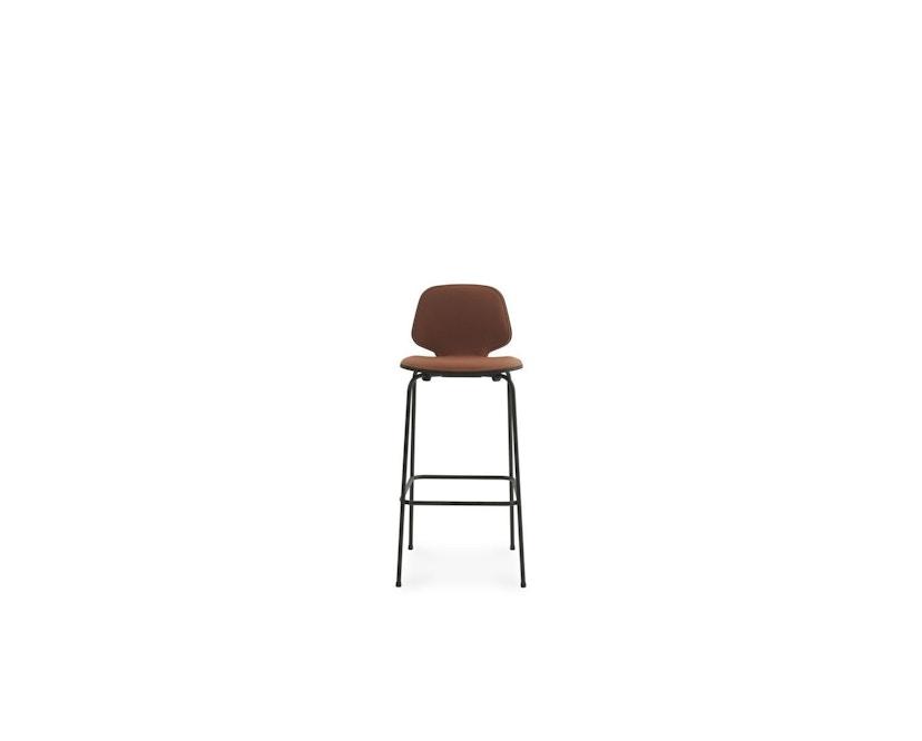 Normann Copenhagen - My Chair Barhocker Frontposterung - H 65 cm - staal - Archway (Main Line Flax) - 1