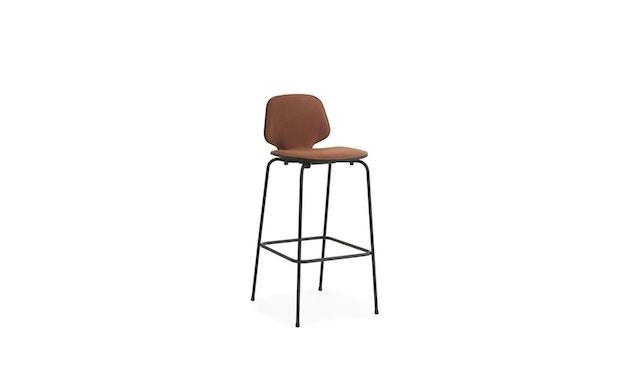 Normann Copenhagen - My Chair Barhocker Frontposterung - H 65 cm - staal - Archway (Main Line Flax) - 2