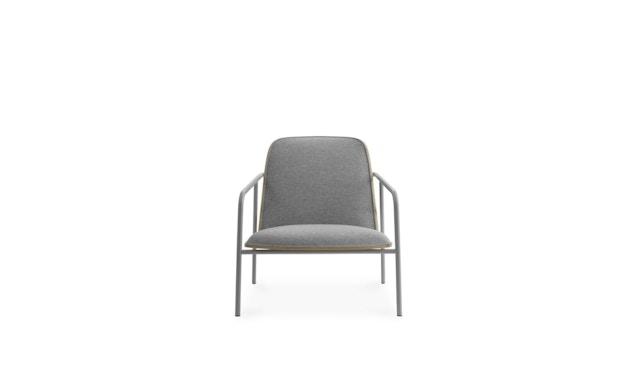 Normann Copenhagen - Pad Loungestuhl - Low - grauer Stahl/ Eiche - Archway - 2
