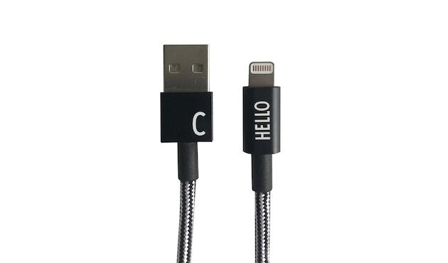 DESIGN LETTERS - Buchstaben-Ladekabel für iPhone und iPad - C - 2