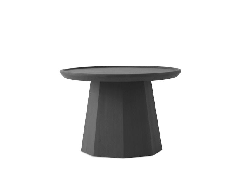 Normann Copenhagen - Pine Beistelltisch - Ø 65 cm - dark grey - 1