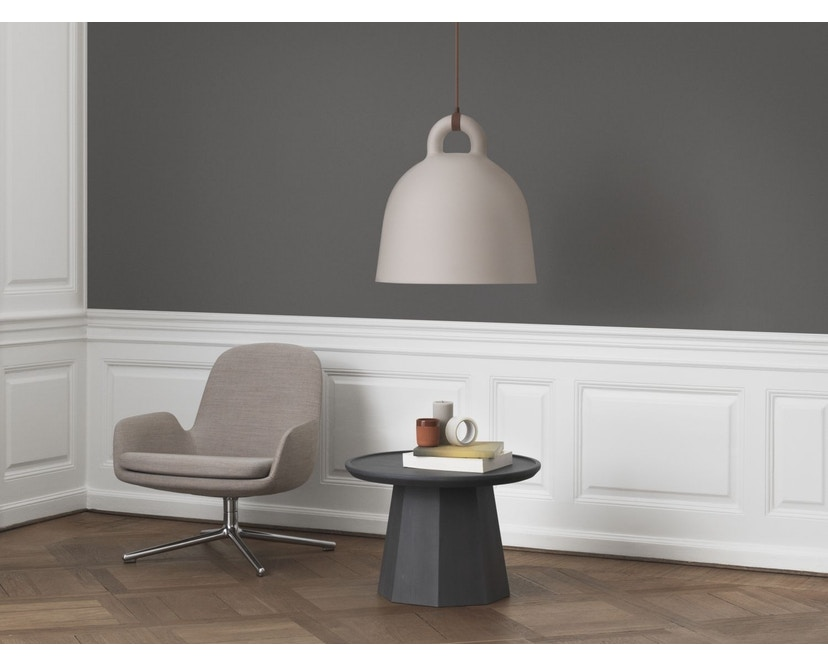 Normann Copenhagen - Pine Beistelltisch - Ø 65 cm - dark grey - 4