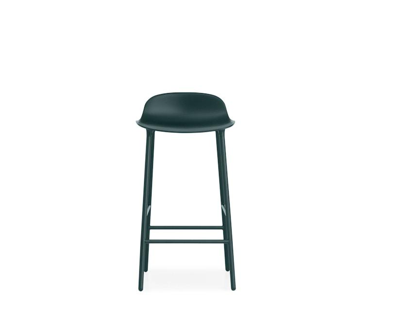 Normann Copenhagen - Form Barstuhl - 65 cm - grün - 6