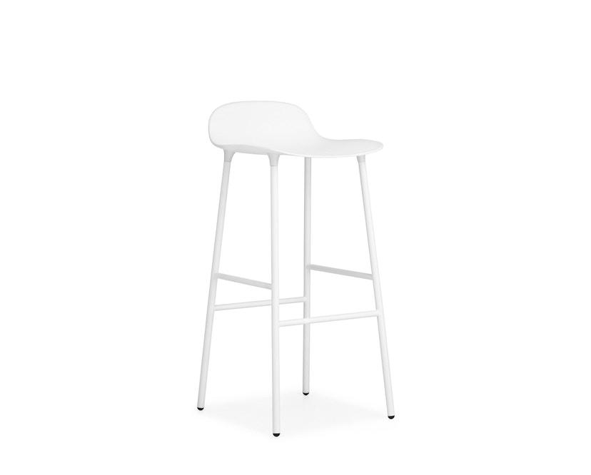 Normann Copenhagen - Form Barstuhl - 75 cm - weiß - 5
