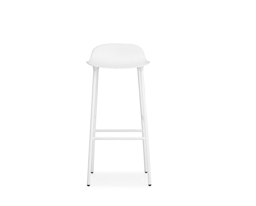 Normann Copenhagen - Form Barstuhl - 75 cm - weiß - 6
