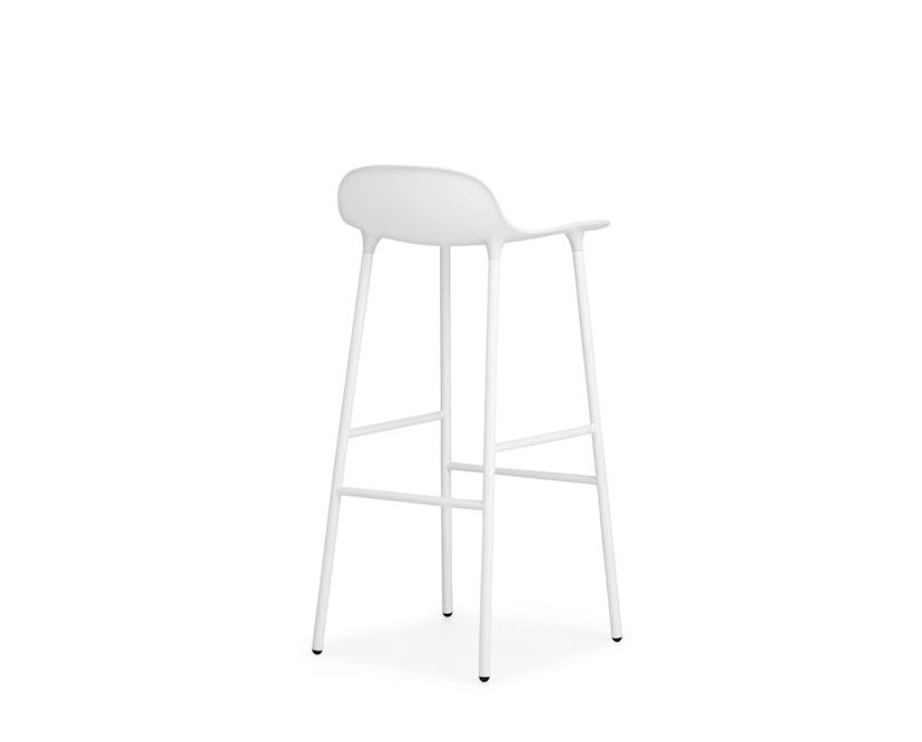 Normann Copenhagen - Form Barstuhl - 75 cm - weiß - 8
