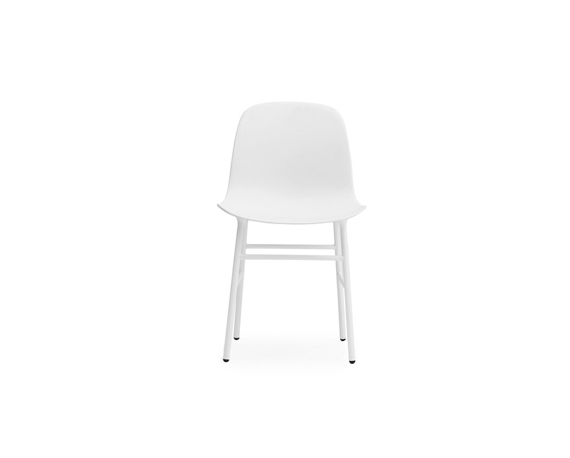 Normann Copenhagen - Form stoel met metalen frame - wit - 2