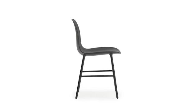 Normann Copenhagen - Form stoel met metalen frame - zwart - 3